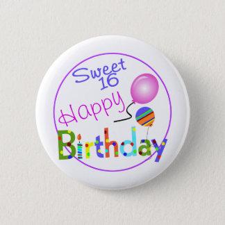 Sweet 16 pinback button