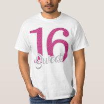 Sweet 16 Pink T Shirt