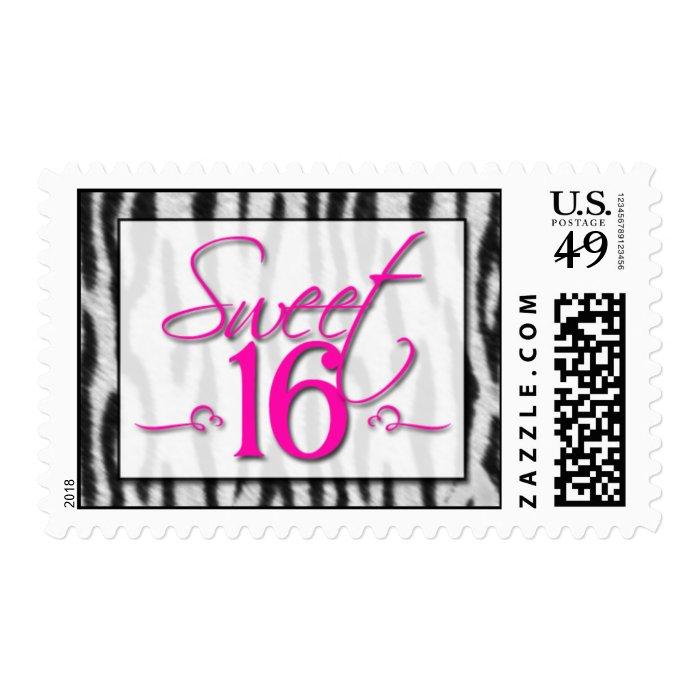 Sweet 16 postage stamp