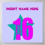 Sweet 16 Poster (Insert Name)