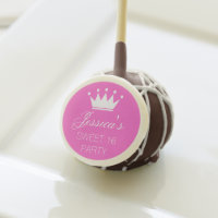Sweet 16 sixteen Birthday party cake pops