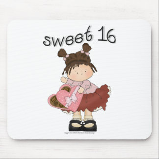♥ sweet 16 (sixteen) ♥ girly giggles mouse pad