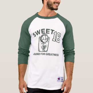 SWEET 16 Sports Inspired Graphic BIRTHDAY Tee