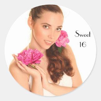 Sweet 16 Stickers 16th Birthday