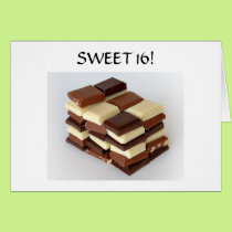 SWEET 16! SWEETER EVERY DAY CARD