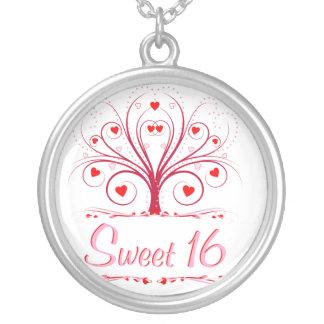 Sweet 16  - Sweetheart Tree Pendant
