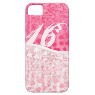 Sweet 16 two tones hearts iPhone SE/5/5s case
