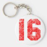 Sweet 16th Birthday Gifts Basic Round Button Keychain