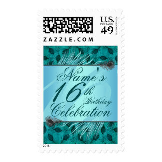 Sweet 16th birthday stamps