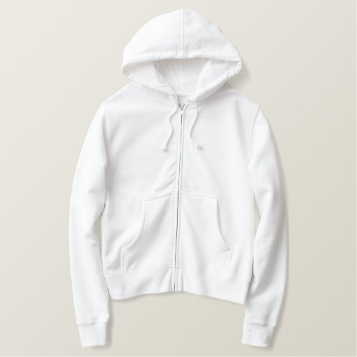 Sweet 16th Birthday Words Embroidery Pattern Embroidered Hoodie