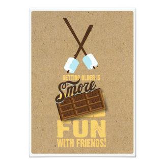Sweet 30th Birthday Bonfire Invitations