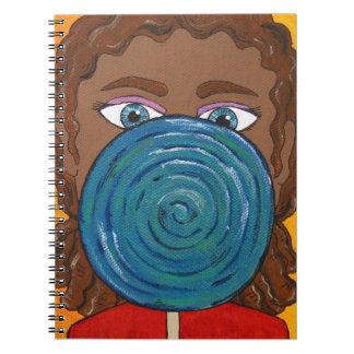 Sweet(3) Spiral Notebook