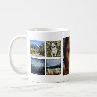 Sweet 9 Instagram Photos Collage Coffee Mug