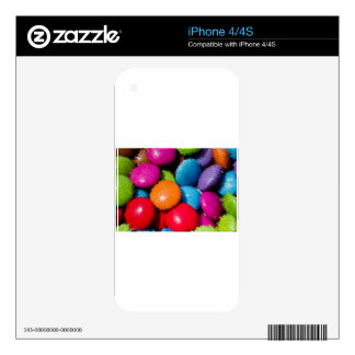 Sweet Abstract 3D Decal For iPhone 4