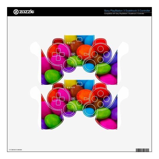 Sweet Abstract image PS3 Controller Decals