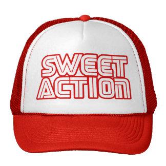Sweet Action College Retro 80s Humor Trucker Hat