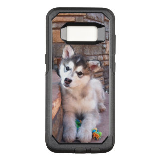 Sweet Alaskan Malamute Puppy Head Tilt Photograph OtterBox Commuter Samsung Galaxy S8 Case