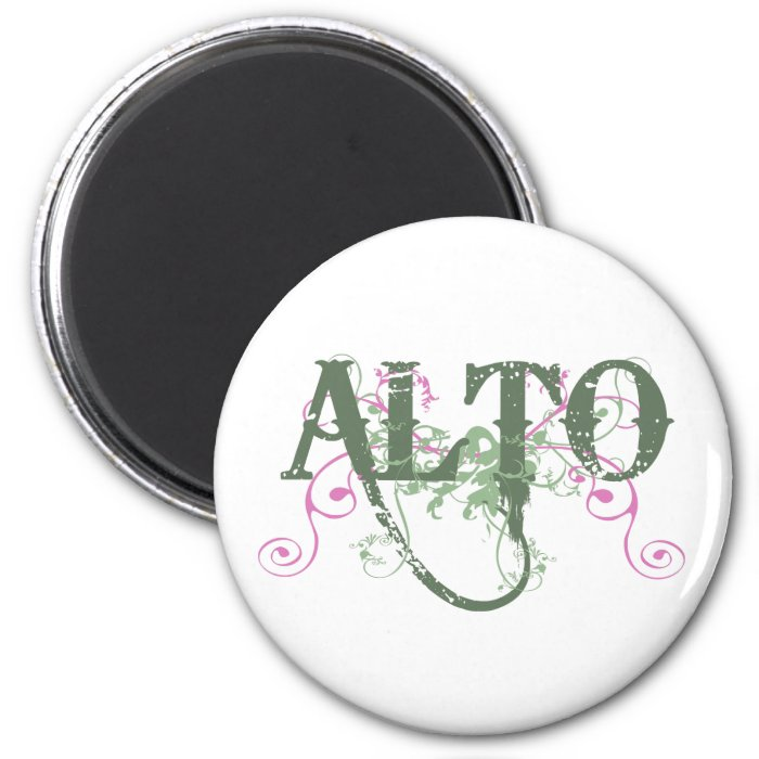 Sweet Alto 2 Inch Round Magnet