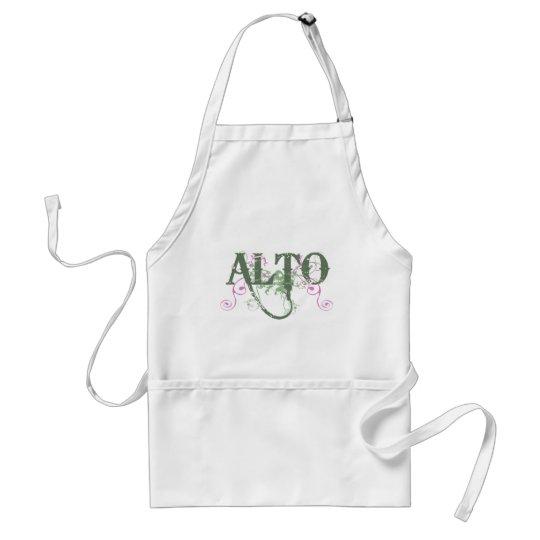 Sweet Alto Adult Apron