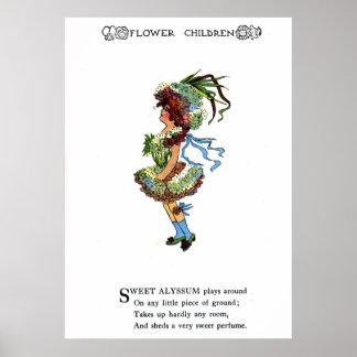 Sweet Alyssum Print