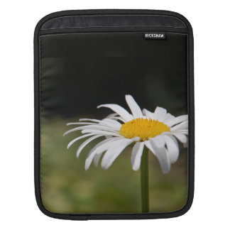 Sweet and Cute Daisy Macro Photo Sleeve For iPads