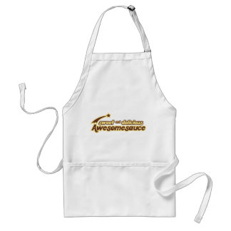 Sweet and Delicious Awesomesauce mr funny Apron