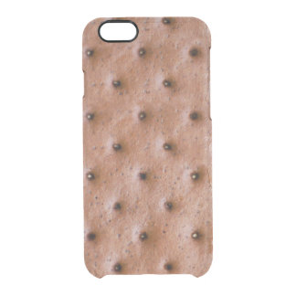 Sweet and Funny Ice Cream Sandwich Pattern Uncommon Clearly™ Deflector iPhone 6 Case
