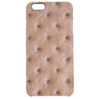 Sweet and Funny Ice Cream Sandwich Pattern Uncommon Clearly™ Deflector iPhone 6 Plus Case