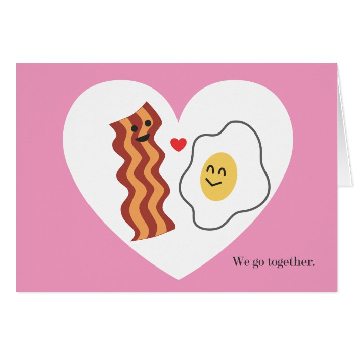 Sweet and funny Valentine's Day card