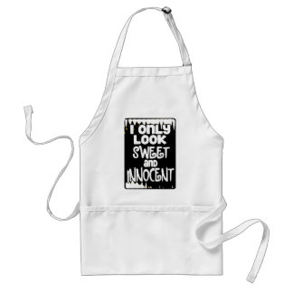 Sweet and Innocent not Adult Apron