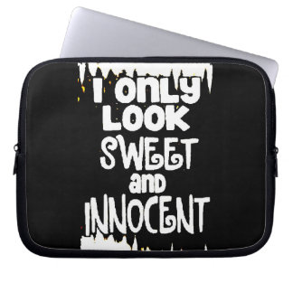 Sweet and Innocent not Laptop Computer Sleeves