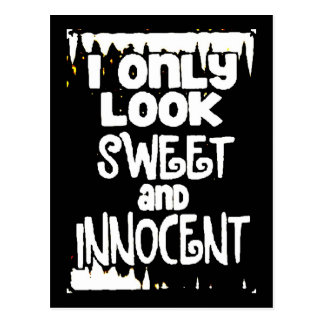 Sweet and Innocent not Postcard
