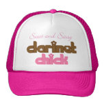 Sweet and Sassy Clarinet Chick Music Gift Hat