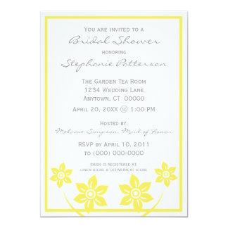 Sweet and Sassy Flowers Bridal Shower Invitation