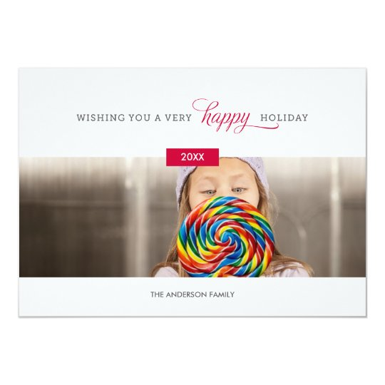 SWEET AND SIMPLE | HOLIDAY PHOTO CARD