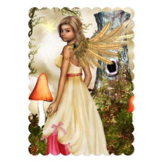 Sweet Angel 5x7 Paper Invitation Card