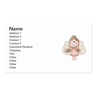 Sweet Angel Double-Sided Standard Business Cards (Pack Of 100)