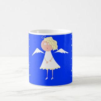 Sweet Angel Christmas Mug, Cute Holiday Mugs