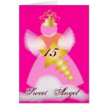 Sweet Angel-Customize Greeting Card