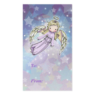 Sweet Angel Holiday Gift Tags Business Card