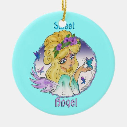 """Sweet Angel"" Ornament"