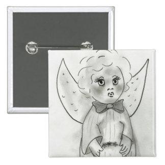 Sweet Angel Pinback Button