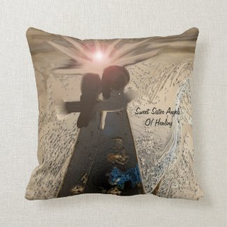 Sweet Angel Sisters...Of Healing Pillow