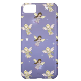 Sweet Angels in the Stars Pattern iPhone 5C Cover