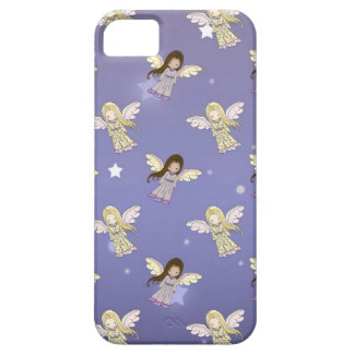 Sweet Angels in the Stars Pattern iPhone SE/5/5s Case