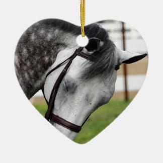 Sweet Appaloosa Horse Ceramic Ornament