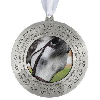 Sweet Appaloosa Horse Pewter Ornament