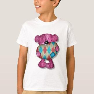 sweet argyle heart bear T-Shirt