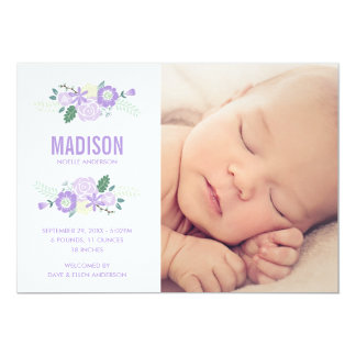 Sweet Arrival | Birth Announcement