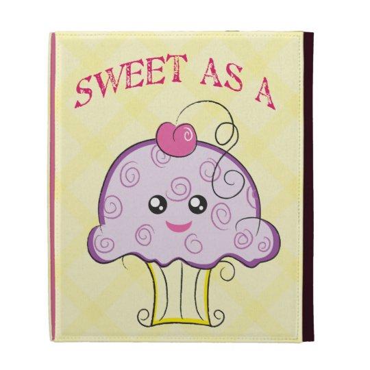 Sweet as a Cupcake iPad Case